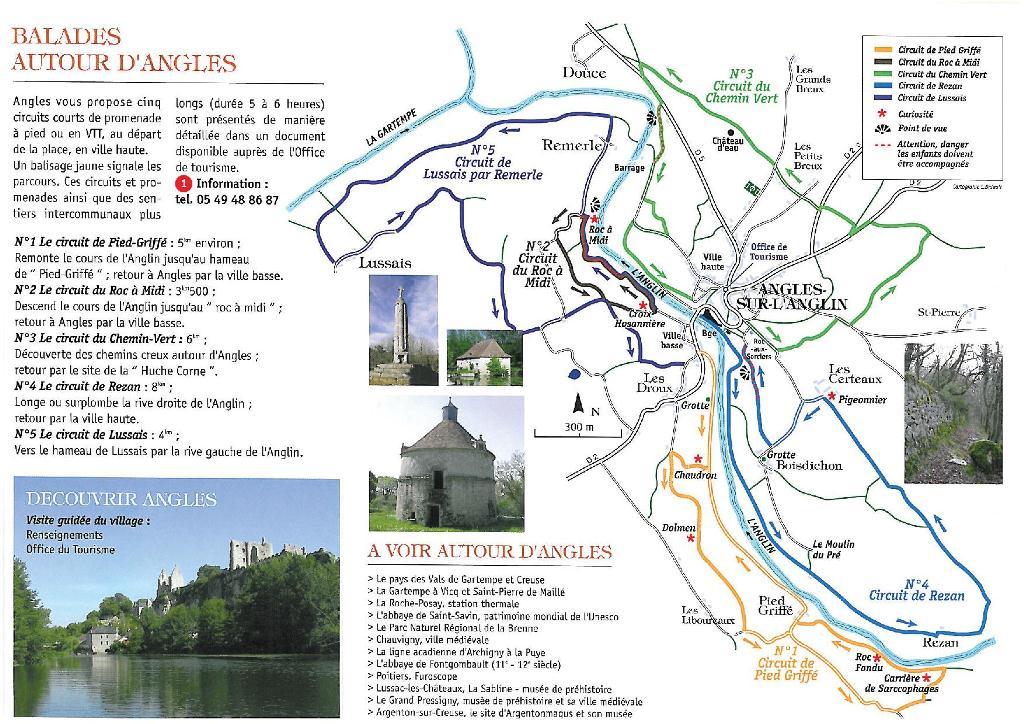 Visites balades et randonn es mairie d 39 angles sur l 39 anglin - Office de tourisme angles sur l anglin ...