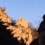 chapelle St Pierre, soirée ensoleillée