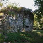 Restes du premier château