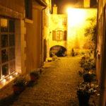 Passage de l'Arceau, la nuit