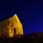 Chapelle St Pierre la nuit