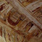 Plafond de l'abbatiale de St Savin: l'Arche de Noé