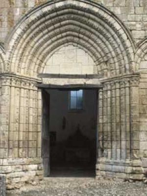 Portail Chapelle Ste Croix